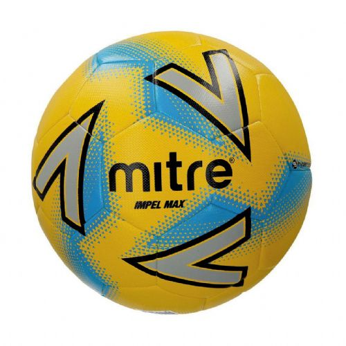 Mitre Impel Max Training Ball - Yellow/Silver/Blue